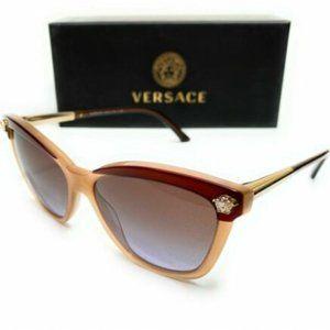 Versace Women's Bronze and Beige Sunglasses!